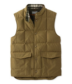 Signature Quilted Vest, Wool-Lined