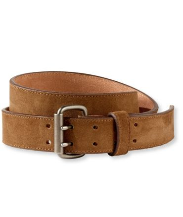 Signature Double-Prong Belt, Suede