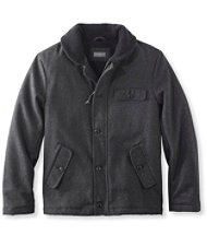Signature Sherpa-Lined Wool-Blend Jacket, Slim Fit
