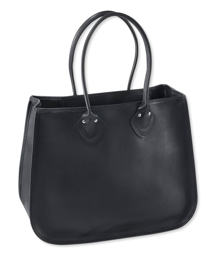 Signature Made-in-Maine Leather Tote