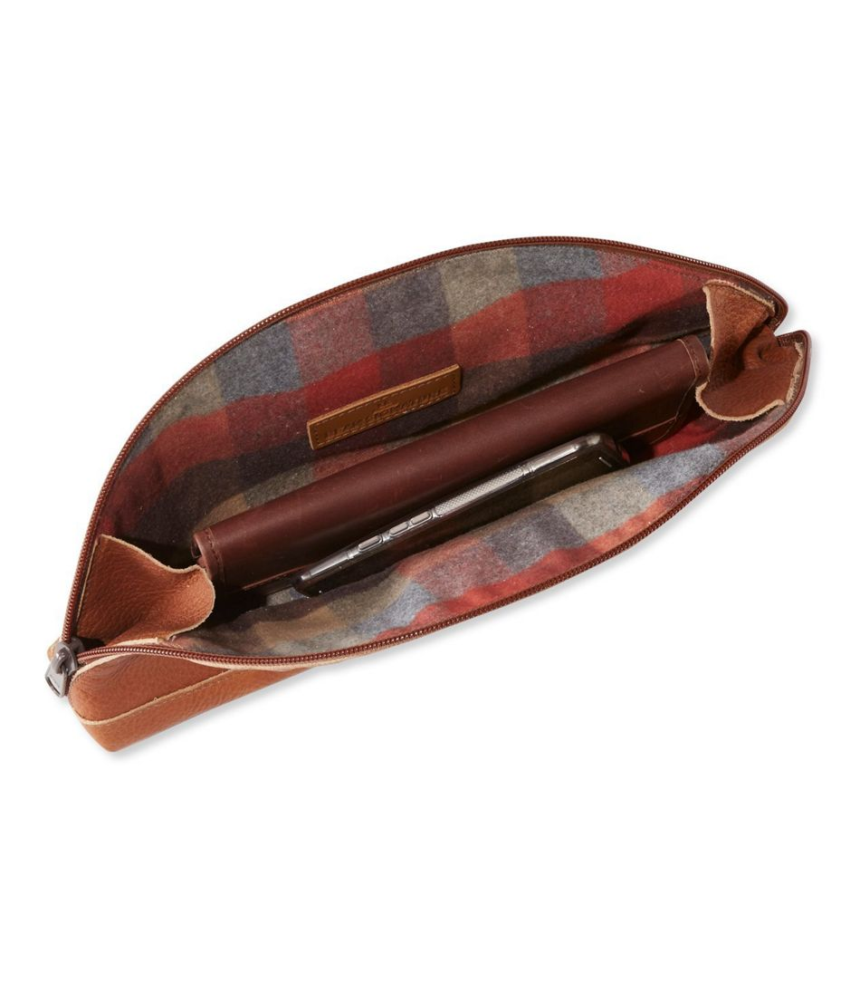 Signature Made-in-Maine Leather Pouch