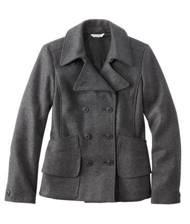 Signature Wool Peacoat