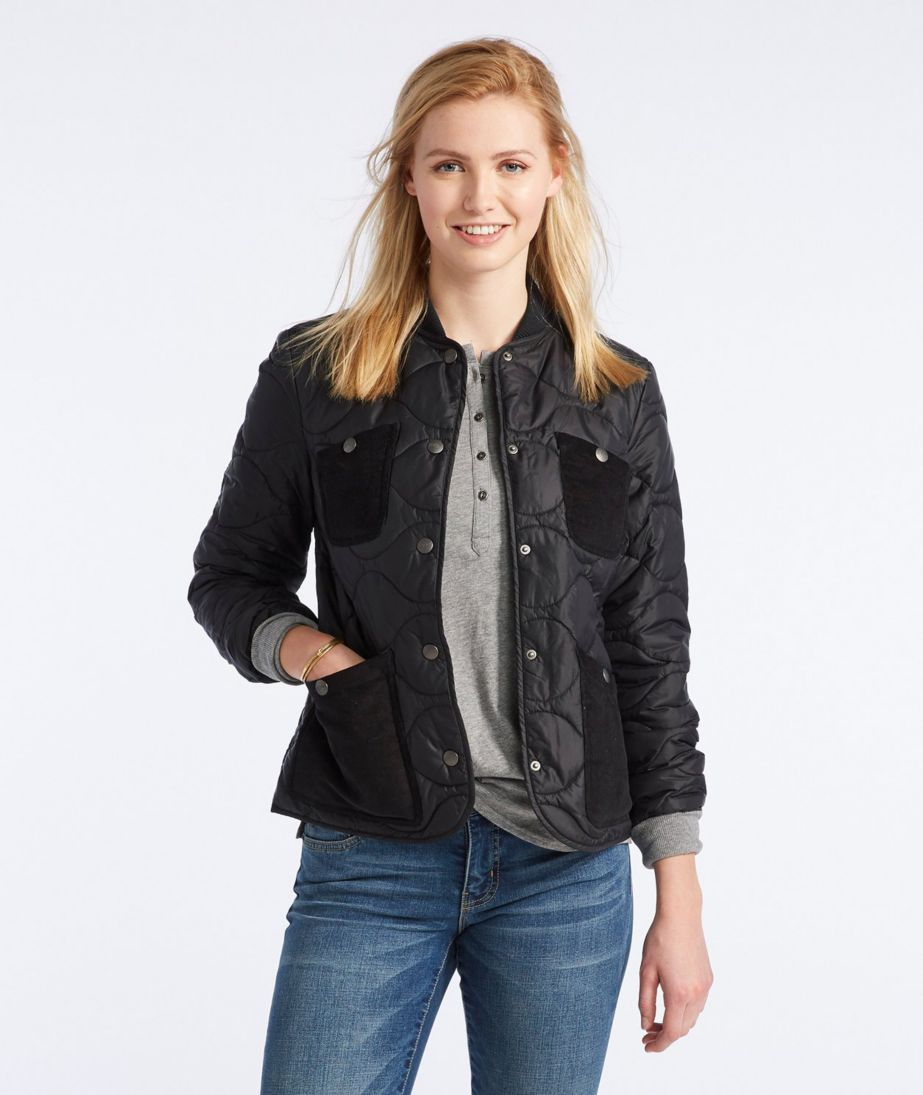 Signature Packable Quilted Jacket Misses