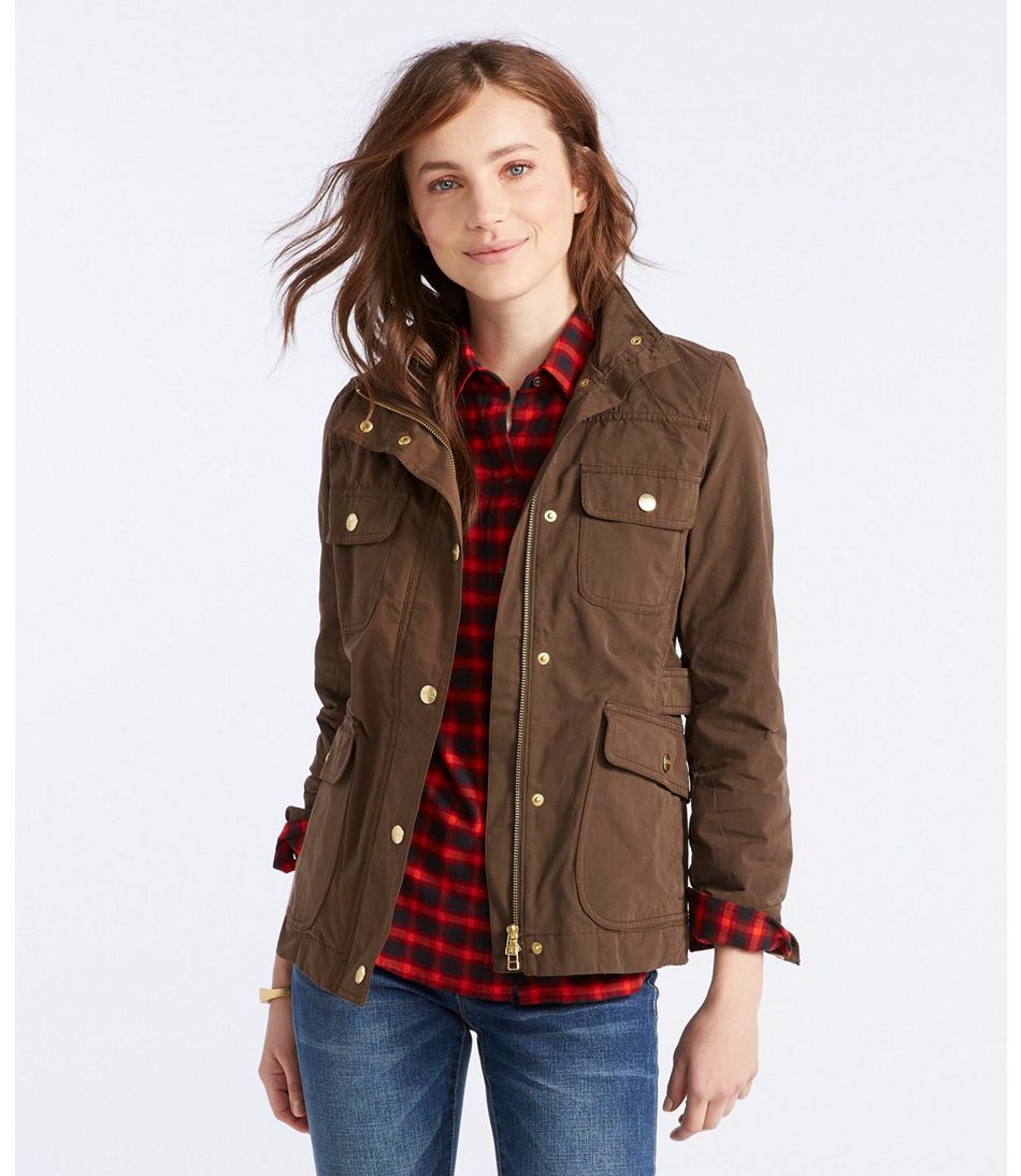 Women's Signature Waxed Field Jacket