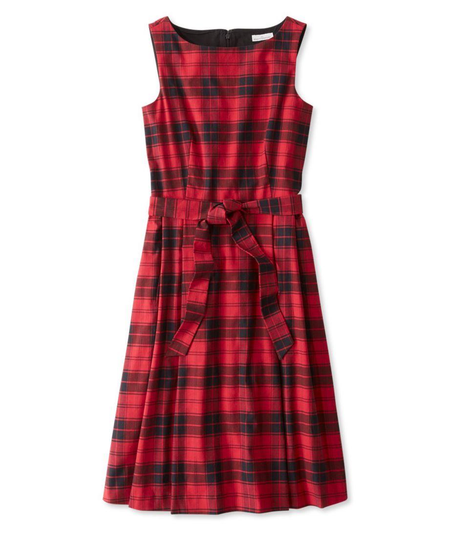 The Signature Flannel Dress, Plaid