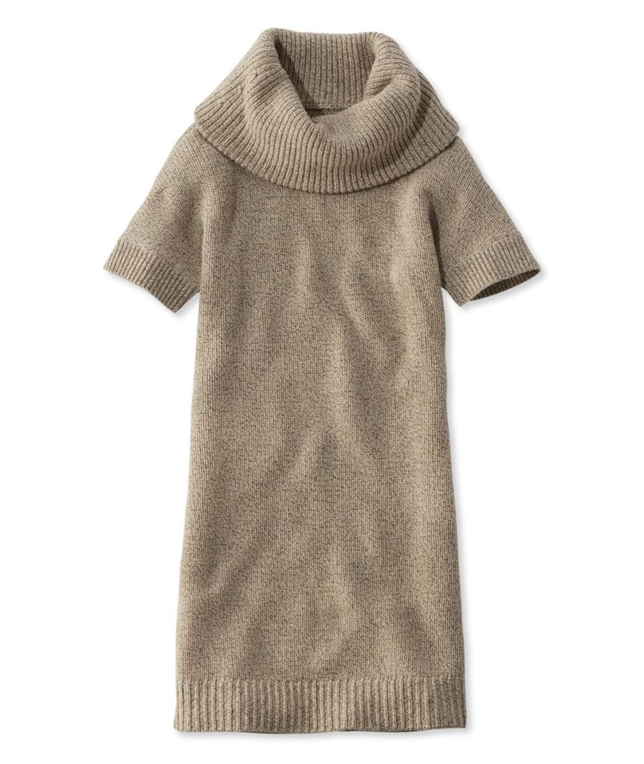 Signature Short-Sleeve Sweater Dress