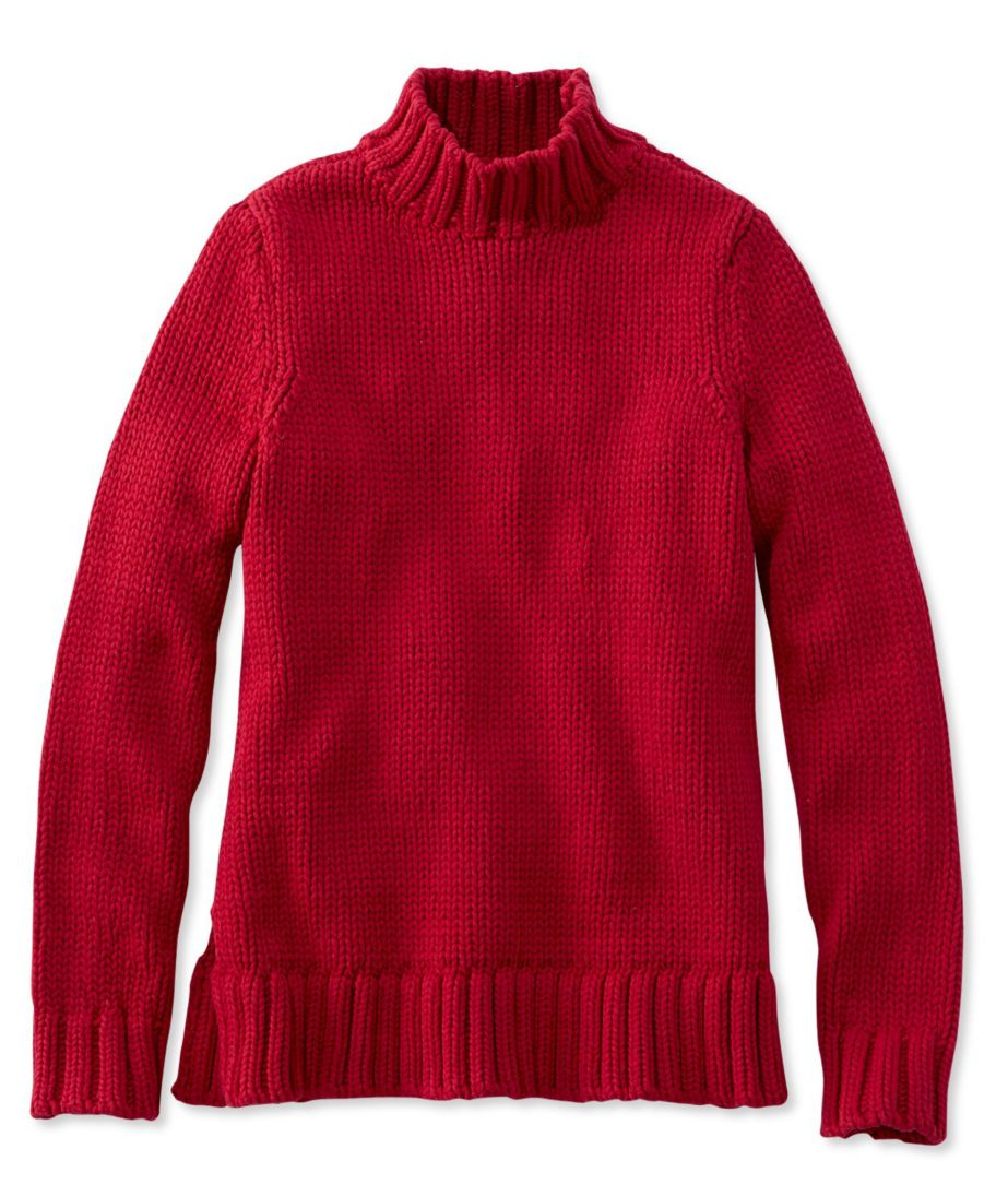 Signature Chunky Knit Mockneck Sweater