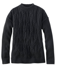 Signature Cascading Cable Sweater