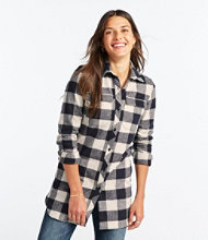 Signature Chamois Tunic, Plaid