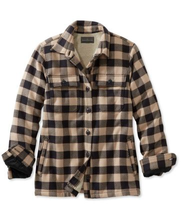Signature Chamois Shirt Jacket, Plaid