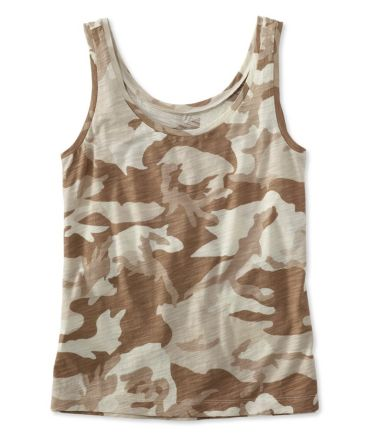 Signature Essential Knit Tank, Print