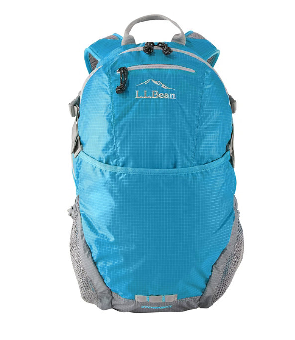 L.L.Bean Stowaway Day Pack, Gulf Blue, large image number 0