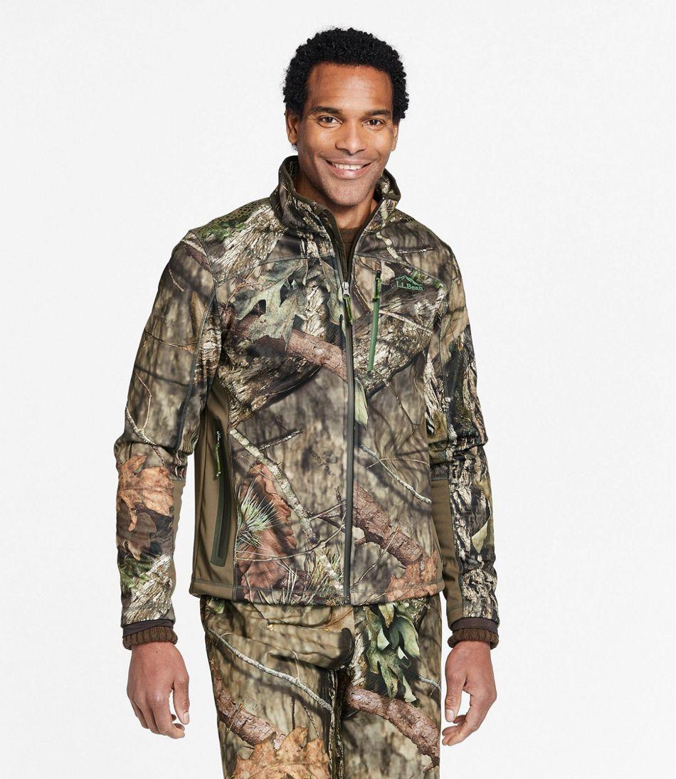 Men's Ridge Runner Soft-Shell Hunting Jacket, Camo