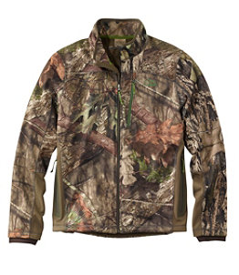 Men's Ridge Runner Soft-Shell Hunting Jacket, Camo