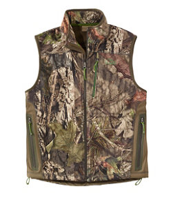 Men's Ridge Runner Soft-Shell Vest, Camo