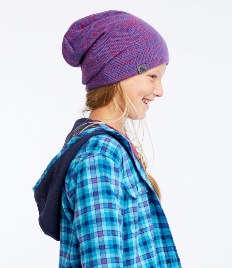 Kids' Knit Slouch Hat