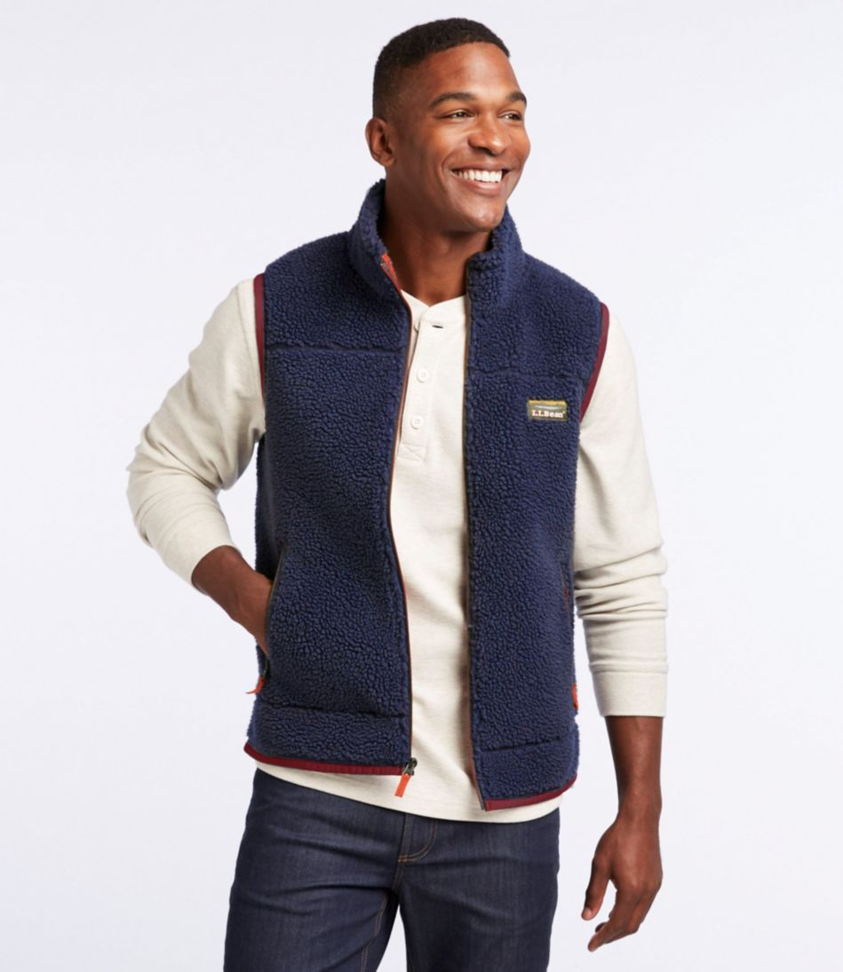 Mountain Pile Fleece Vest, Men's