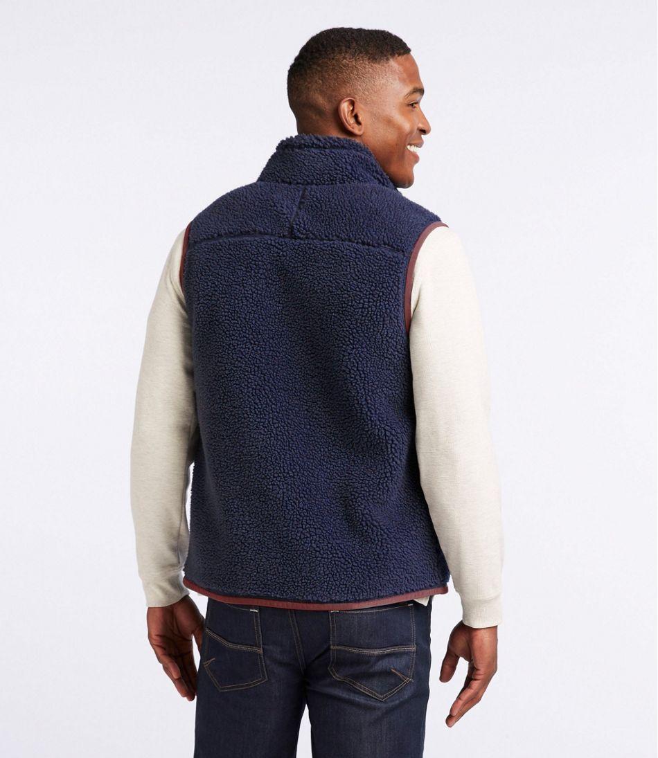 Men's Mountain Pile Fleece Vest
