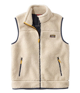 Men's Mountain Pile Fleece Vest