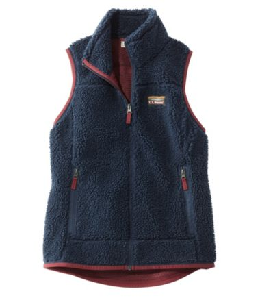 Mountain Pile Fleece Vest, Misses