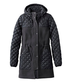 Women's Hybrid Wool Coat, Misses