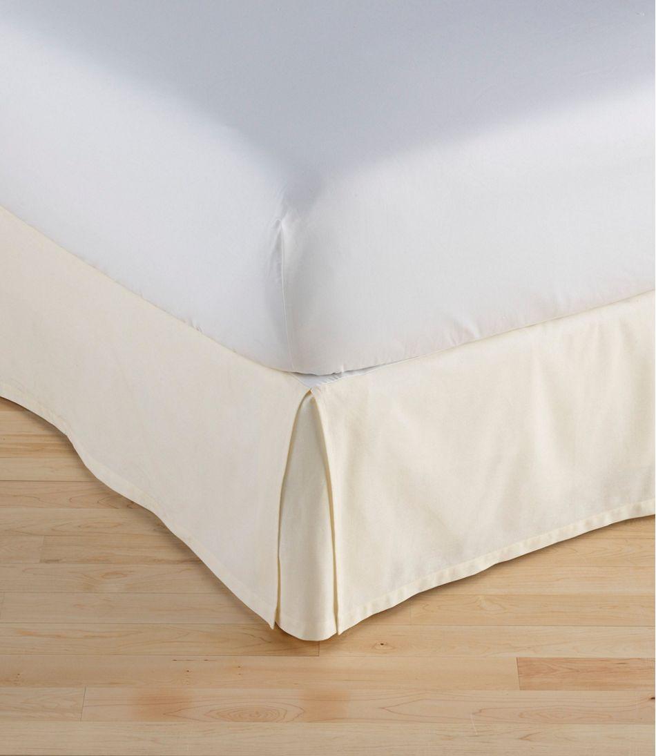 Box Pleat Bed Skirt