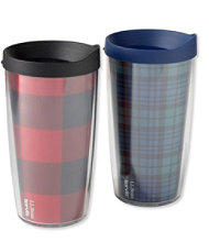 Tervis Tumbler, Plaid Set of Two