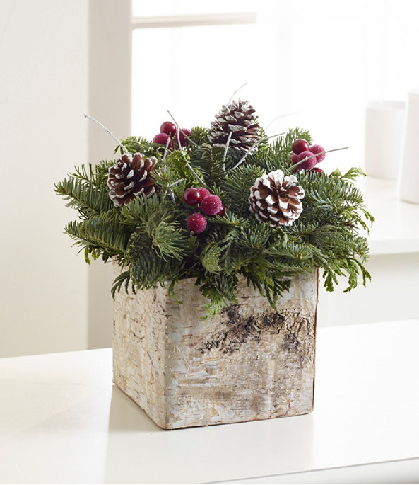 Birch Box Centerpiece, One Color, large image number 0