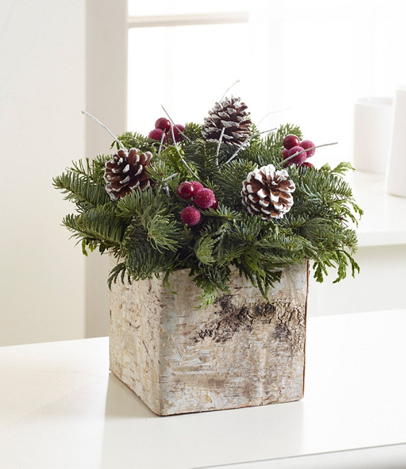 Birch Box Centerpiece, One Color, large image number 1