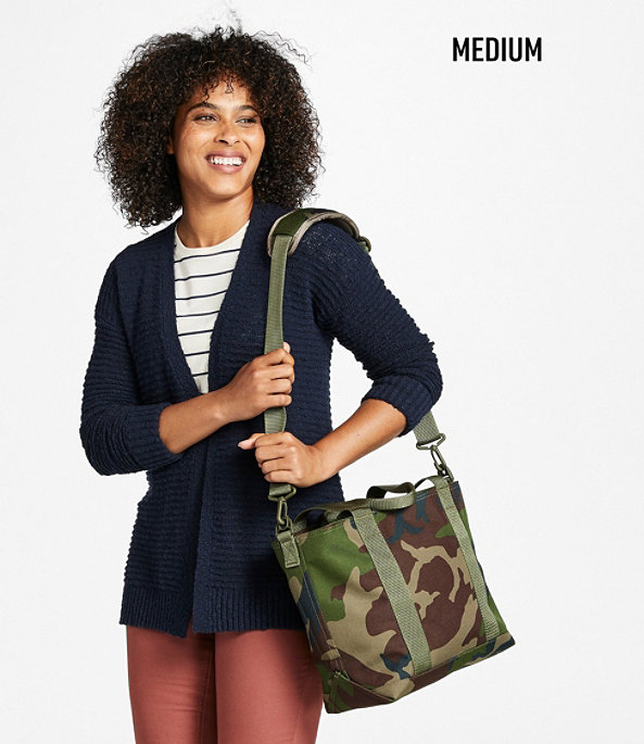 Hunter's Tote Bag with Strap, Camouflage, Medium, Camouflage, large image number 3