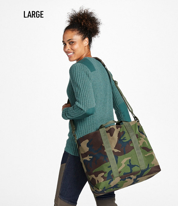Hunter's Tote Bag with Strap, Camouflage, Medium, Camouflage, large image number 4