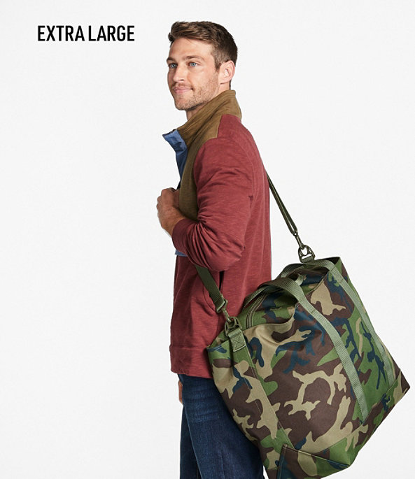 Hunter's Tote Bag with Strap, Camouflage, Medium, Camouflage, large image number 5