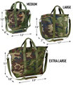 Hunter's Tote Bag with Strap, Camouflage, Medium, Camouflage, small image number 2