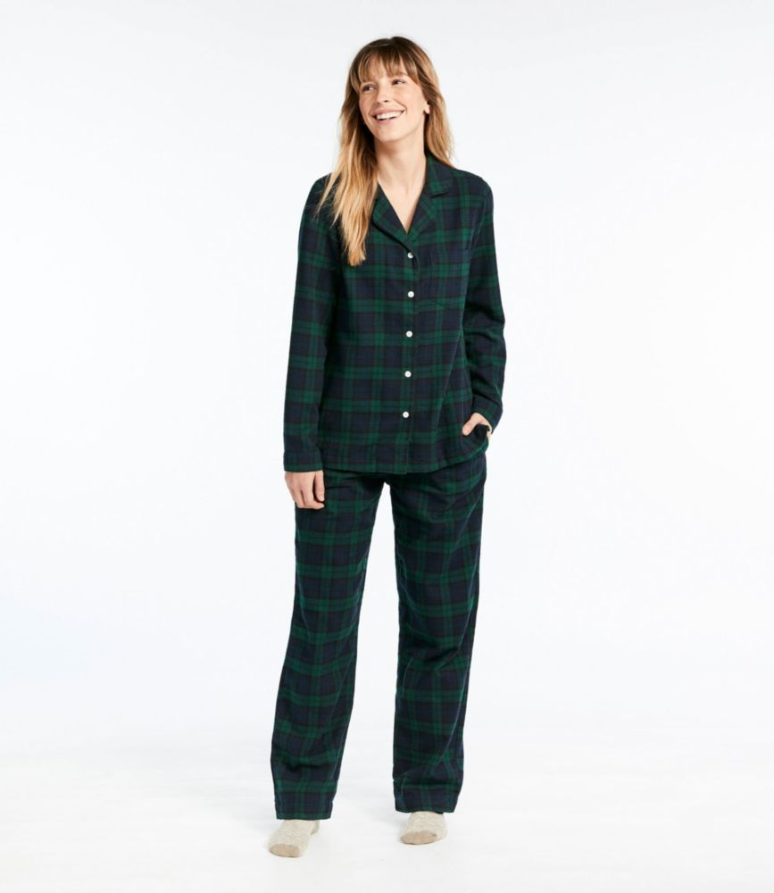 02b04ca808 Women s Scotch Plaid Flannel Pajamas