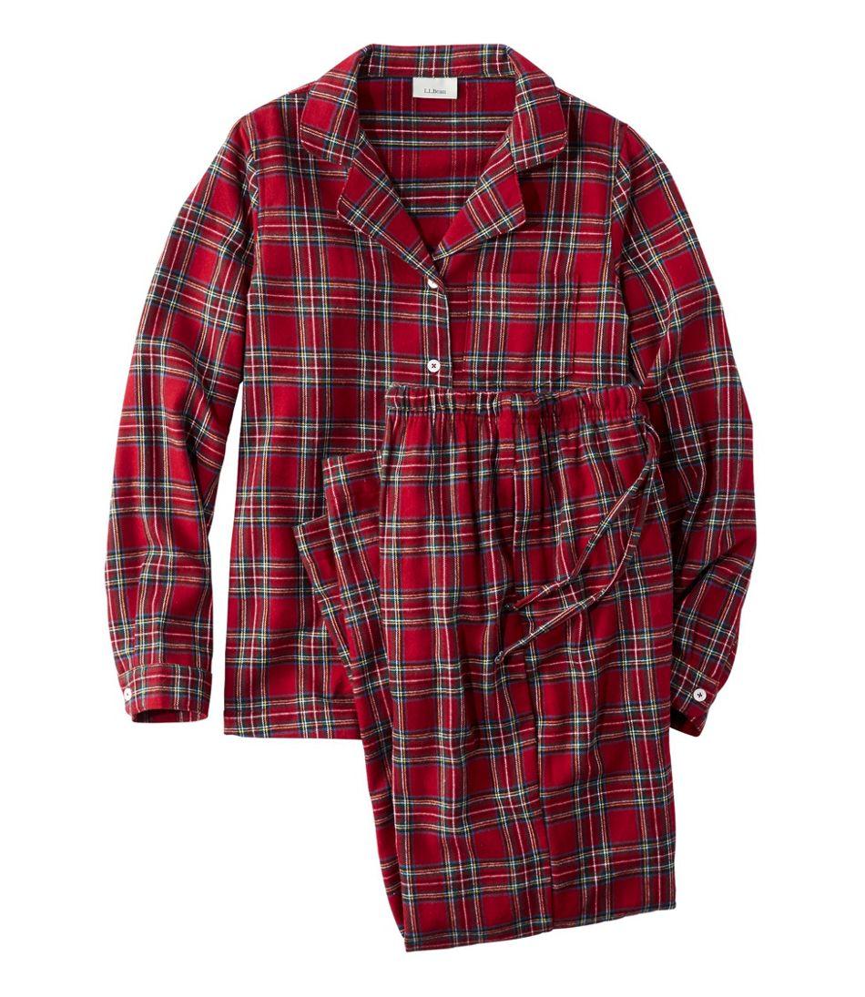 14f00ff54a Women s Scotch Plaid Flannel Pajamas