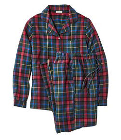 Women's Scotch Plaid Flannel Pajamas