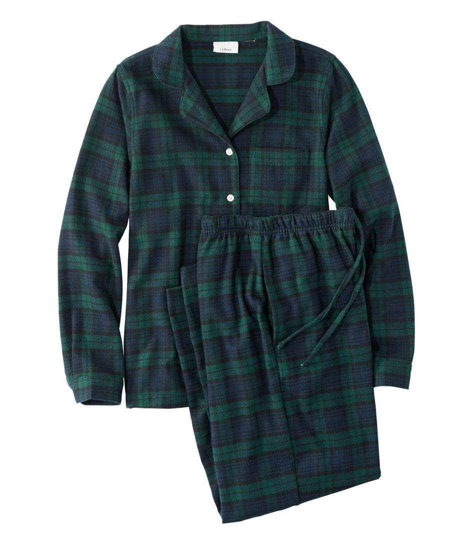 4ed79cea01 Women s Scotch Plaid Flannel Pajamas