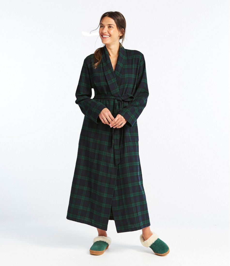 Scotch Plaid Flannel Robe e445769f0