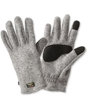 L.L.Bean Sweater Fleece Gloves, Men's