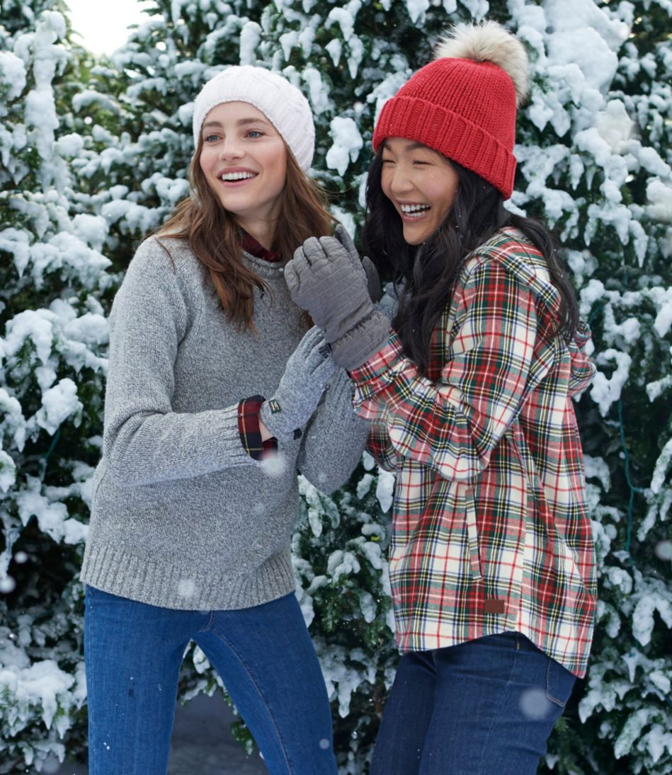 L.L.Bean Sweater Fleece Gloves, Women's