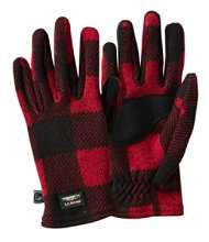 Women's L.L.Bean Sweater Fleece Gloves
