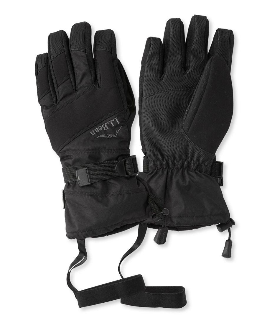 Men's L.L.Bean Waterproof Ski Gloves