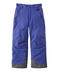 Kids' Waterproof Patroller Ski Pants