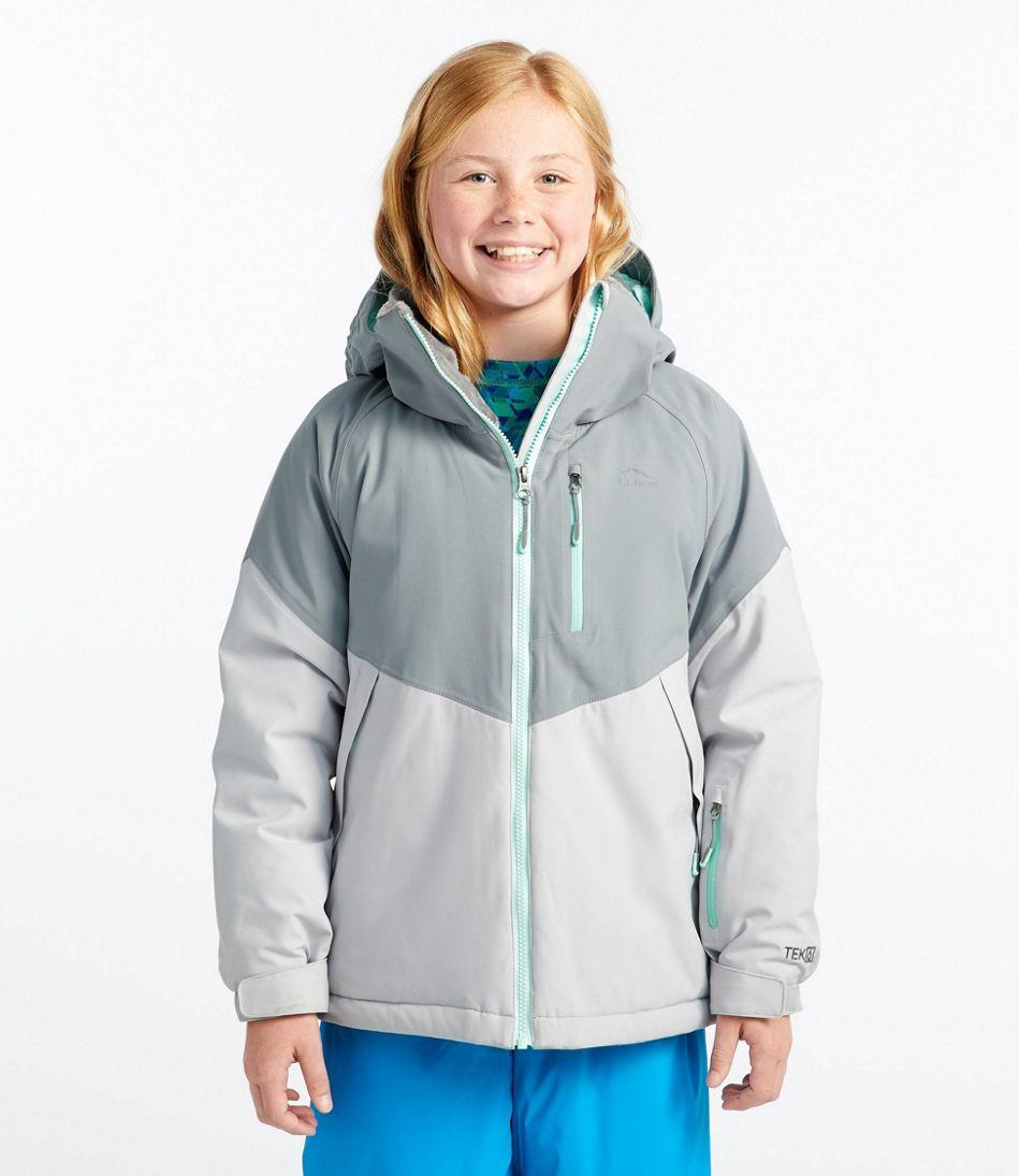 Kids' Waterproof Patroller Ski Jacket, Colorblock