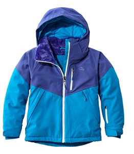 Kids' Waterproof Patroller Ski Jacket, Colorblock