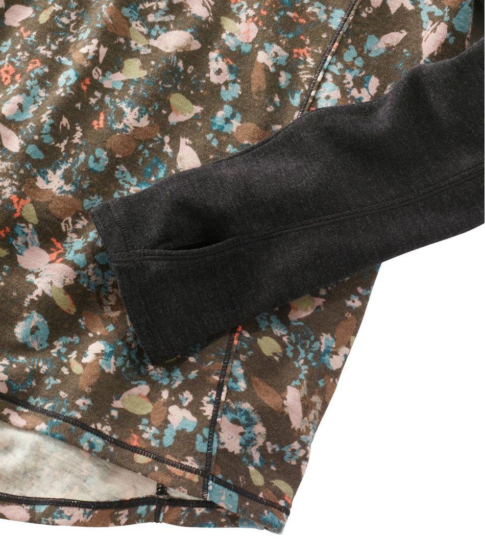 Cresta Wool Midweight Base Layer T-Zip, Print