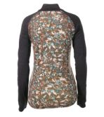 Women's Cresta Wool Midweight Base Layer T-Zip, Print
