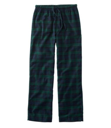 Scotch Plaid Flannel Sleep Pants, Plaid