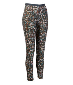 Women's Cresta Wool Midweight Base Layer Pants, Print