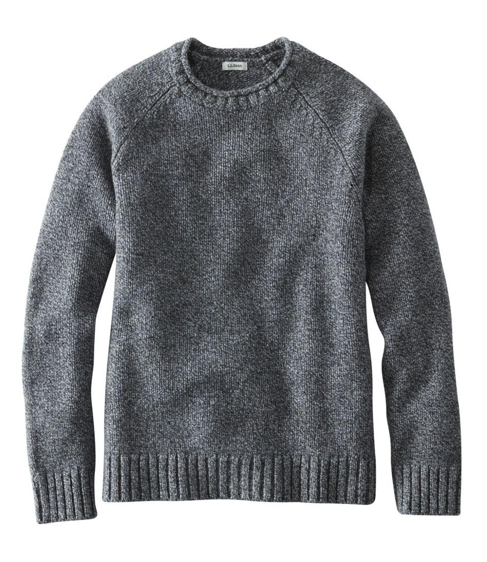 6822ab635560 L.L.Bean Classic Ragg Wool Sweater